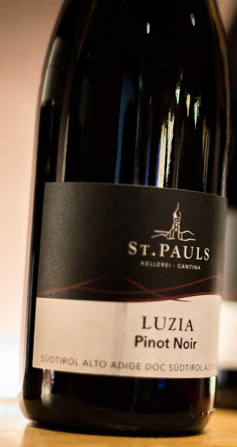 bottiglia di vino di Spizzo
